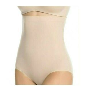 Spanx Higher Power Panties Size 1X Soft Nude